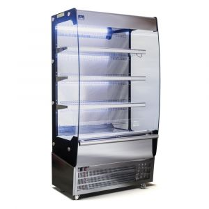 1000MM - 500 Litre - Open Showcase Fridge