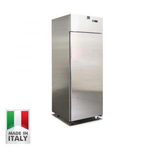 700 Litre Italian Made Upright Stainless Steel Freezer