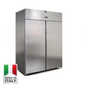 1400 Litre Italian Made Upright Stainless Steel Freezer