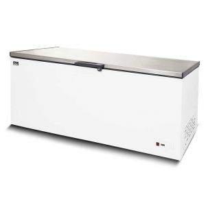 Stainless Lid Chest Freezer - 550 Litres
