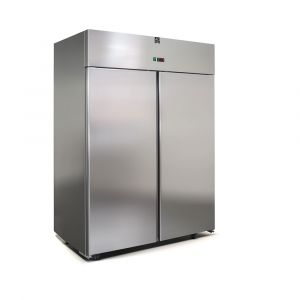 1400 Litre Italian Made Upright Stainless Steel Fridge