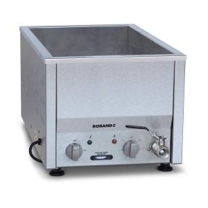 Roband Counter Top Bain Marie narrow 2 x 1/2 size, pans not included