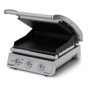 Roband Grill Station 6 slice, smooth non stick plates