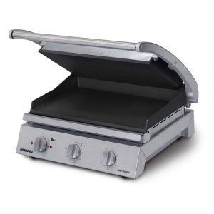 Roband Grill Station 8 slice, smooth non stick plates