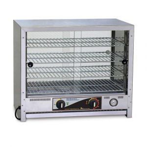 Roband Pie and Food Warmer 50 pies, doors both sides