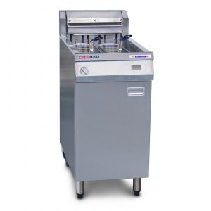 Austheat Freestanding Electric Fryer rapid recovery, 2 baskets