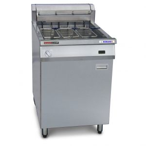 Austheat Freestanding Electric Fryer, 3 baskets