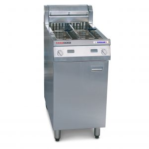 Austheat Freestanding Electric Fryer, two tanks