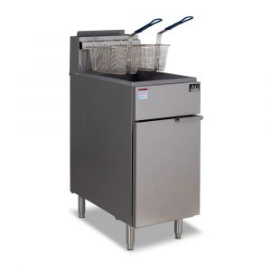 Commercial Gas Fryer - 4 Burner (Natural Gas)