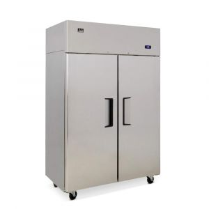 900 Litre Upright Double Door Stainless Steel Door Freezer