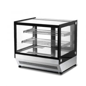 Squared Bench Top Cake / Showcase Fridge - 120 Litre - 700mm