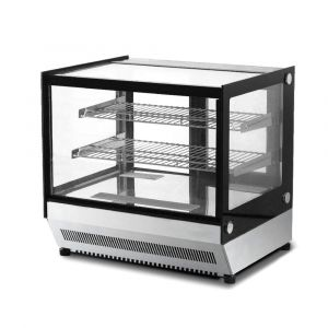 Squared Bench Top Cake / Showcase Fridge - 160 Litre - 900mm