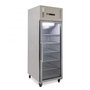 600 Litre Upright Glass Door Fridge