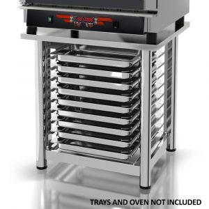 Stand for 5 & 10 Tray Commercial Combi Ovens- Italian Made
