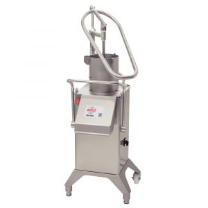 Vegetable Preparation Machine RG-400i-3PH - Manual Push Feed with 4 tube feeder setup