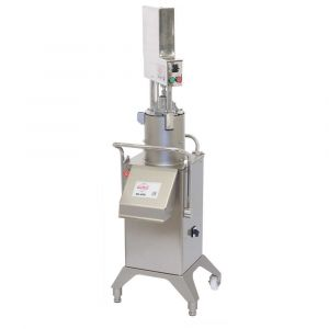Vegetable Preparation Machine RG-400i-3PH - Pneumatic Push Feeder Setup