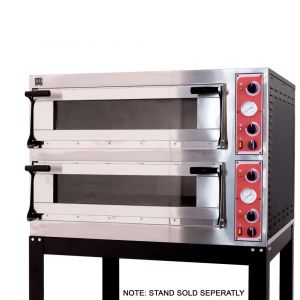Italian Made Commercial 4 Series Electric Double Deck Oven