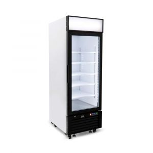 540 Litre Upright Single Glass Door Display Freezer